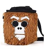 Monkey Bolsas de magnesio - Bolsa de tiza Cool Edition para escalar