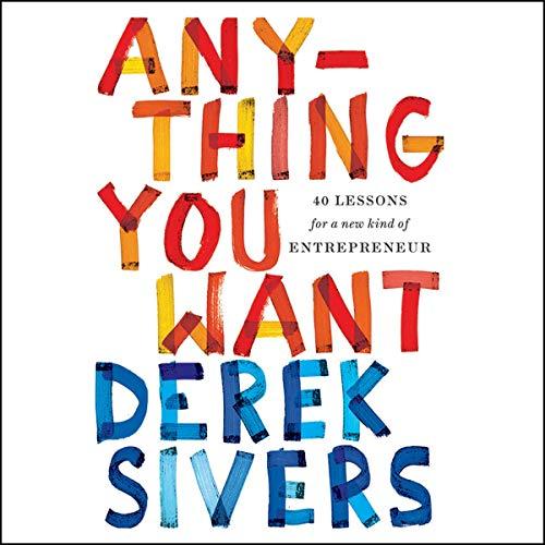 Diseño de la portada del título Anything You Want