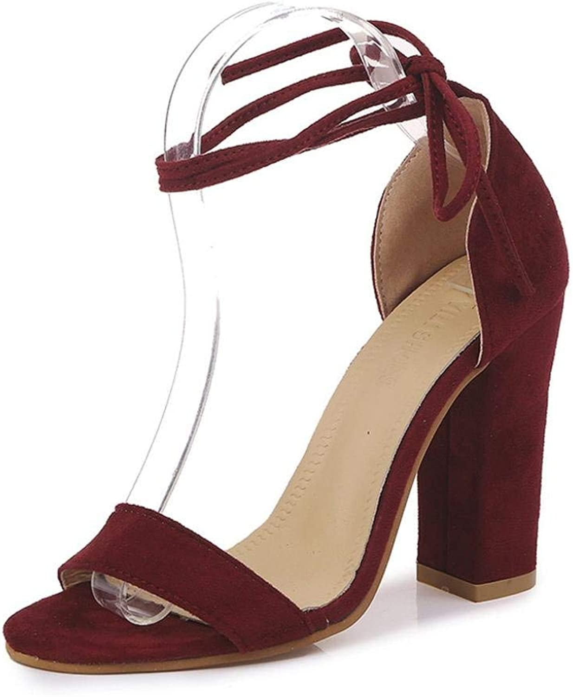 JaHGDU Fashion Women Sandals Summer Boom shoes Wedges Weave Casual Wild Leisure Elegant Atmospheric Middle Heel Sandals
