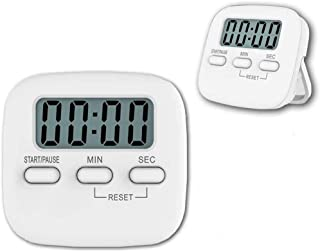 2 Pack Kitchen Timer, Reayouth Digital Countdown Timers with Loud Alarm,Auto-Off, Magnetic Back Mini Portable Digital LCD ...