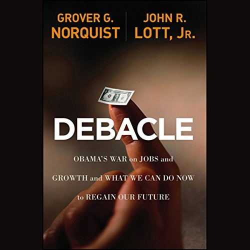 Debacle audiobook cover art