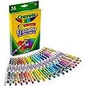 36-Count Crayola Erasable Colored Pencils