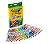 Crayola; Erasable Colored Pencils; Art Tools; 36 Count; Perfect for Art Projects and Adult Coloring watercolor pencils Apr, 2021