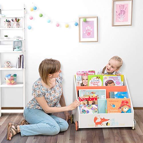 Labebe - Kinder Bücherregal