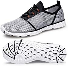 Mens Womens Water Shoes-Quick Drying Aqua Shoes for Boating Swim Aqua Water Sports Pool Beach