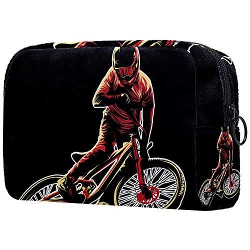 Trousse de toilette pour femme Motif vélo