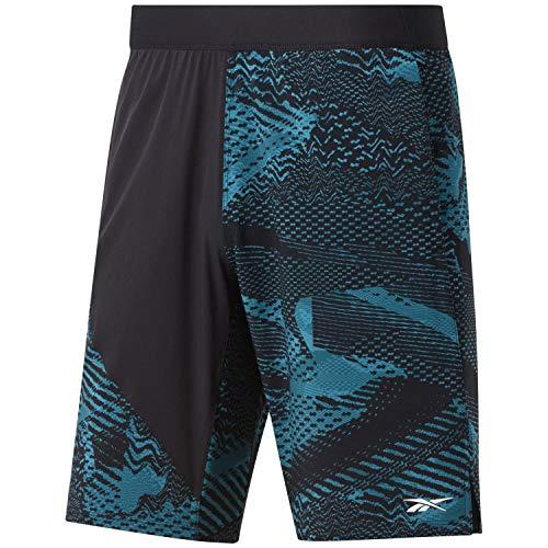 Reebok Ts Speed Shorts AOP 6mo Shorts für Herren XXL seatea