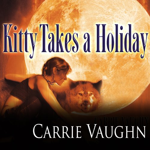 Kitty Takes a Holiday audiobook cover art