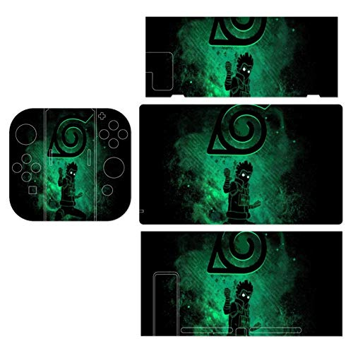 Naruto Rock Lee Symbol And Outline Theme Switch exclusive skin, Nintendo Switch sticker protective film, Switch full device exclusive skin sticker protective film