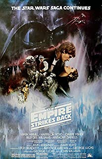 Star wars The empire strikes back #10 movie poster print