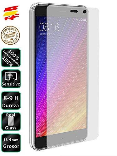 Movilrey Protector para Xiaomi MI5S Plus Cristal Templado de Pantalla Vidrio 9H para movil