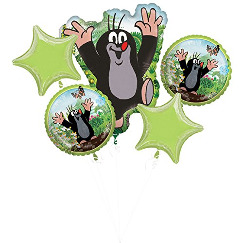 Amscan 3796301 Folieballon Bouquet Little Mole