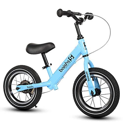 FBDGNG Baby Walker - Bicicleta de equilibrio para niños de 2 a 6 años de edad, sin pedal para niños con freno