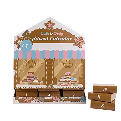 Accentra Adventskalender Cake Shop in Haus Form, für SIE und IHN, Größe: 28 x 10 x 34 cm