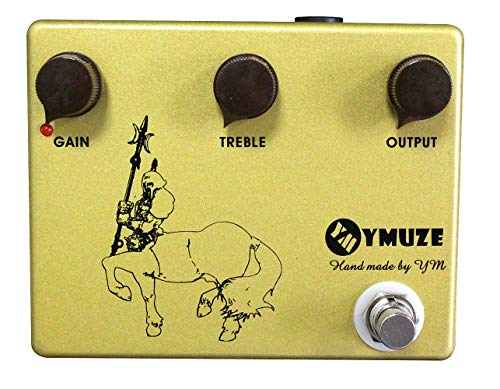 Handmade YMUZE GOLD Professional Overdrive Boost Guitar Effects Pedal