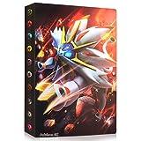 Sinwind Raccoglitore Carte Pokémon, Porta Carte Pokemon, Album per Carte Pokemon GX Ex, Pokemon Album Cartella Raccoglitore Libro 30 Pagine 240 capacità di Carte (Leo)