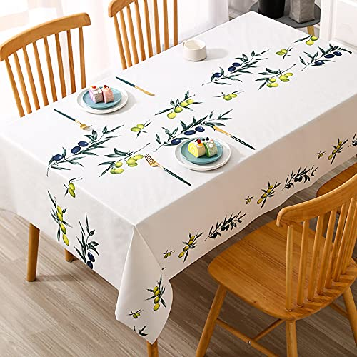 sans_marque Table cloth, table cloth solid color table cloth, dust-proof and shrink-proof table cover, used for kitchen picnic table decoration100 yuan
