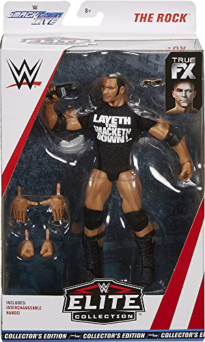 WWE Smakdown Live Elite Collection The Rock Exclusive Collector