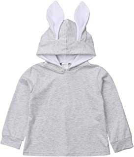 bunny hoodie with ears toddler