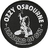 Ozzy Osbourne Blizzard of Ozz - Álbum de fotos de metal pesado para coser
