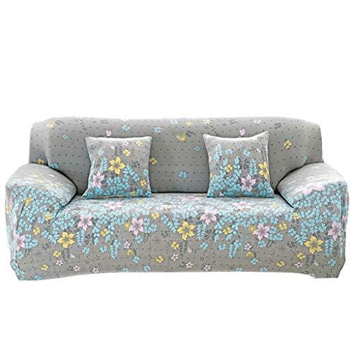Bankovertrek voor bankplaid, bedrukt, overtrek voor banken met hoge elasticiteit, alle afdekkingen voor meubels, bescherming voor woonkamer, dieren, sofa Single-seater sofa C.