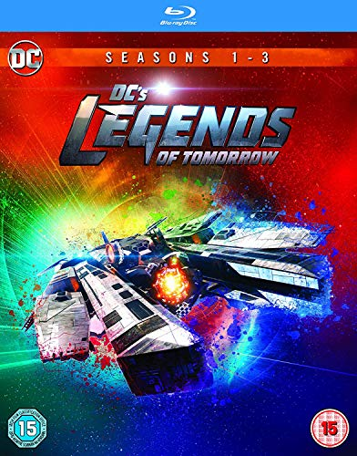 Dc Legends Of Tomorrow S1-3 [Edizione: Regno Unito] [Blu-ray] [Import italien]