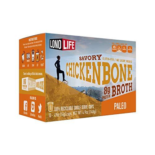 LonoLife Chicken Bone Broth Powder with 8g Protein