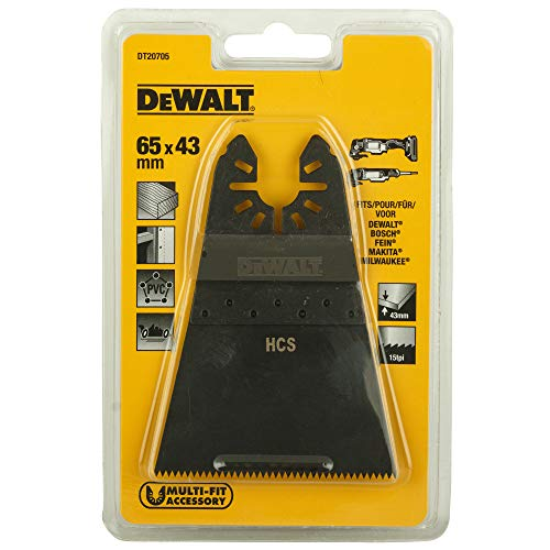 Dewalt DT20705-QZ Multi-Tool Saegeblatt 43x65mm