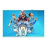 Manchester City Premier League Champions 2021