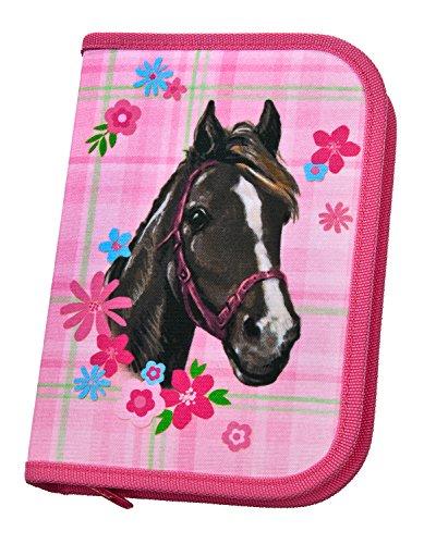 Scooli HCAM0443 - Schüleretui mit Stabilo Markenfüllung, Horse Champion