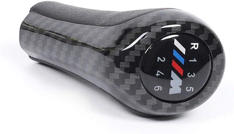 Vitesse Levier Pommeau de Levier de Vitesse /à 5//6 Vitesses Compatible avec B-MW 1 3 5 6 Series E46 E53 E60 E61 E63 E65 E81 E82 E83 E87 E90 E91 E92 X1 X3 X5 E84 E83