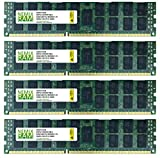 NEMIX RAM 128GB 4x32GB DDR3-1333 PC3-10600 RDIMM Compatible with Apple Mac Pro 2013, Memory Upgrade Kit, Increase Speed and Performance