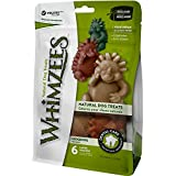 WHIMZEES Natural Dental Dog Chews Long lasting, Large Hedgehog, 6 Pieces