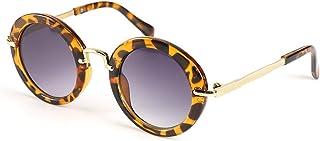 LOPHORINA Round Frame Children sunglasses Kid Retro...