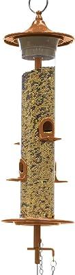 """Effortless Products 202CC Wild Bird Feeder, 14"""", Copper"""