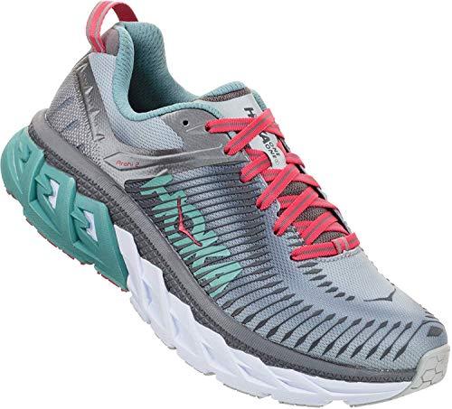 Hoka Arahi 2, Zapatillas de Running por Mujer, Gris (Steel/GrayMetal), 43 1/3 EU
