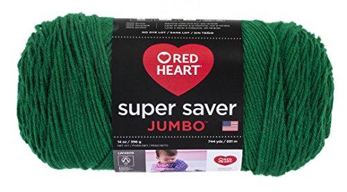 RED HEART Super Saver Jumbo Yarn – Paddy Green