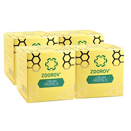 Zdorov natürliche Propolis Wachs-Creme natürliche Inhaltsstoffe (120g)
