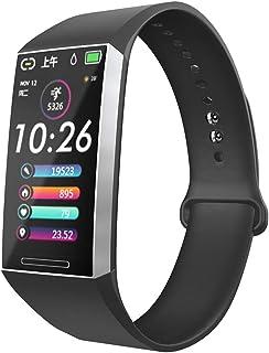 Smartwatch Reloj Fitness Reloj de Pulsera Tracker Pulsera Deportes Reloj Actividad Tracker Smart Watch Fitness Reloj Podómetro Reloj para Hombre Mujer Smartphone Unisex GPS Reloj Multideporte