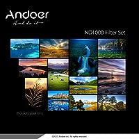 Flytise 77mm ND1000 10ストップ 減光フィルタ Nikon Canonデジタル一眼レフカメラ適用