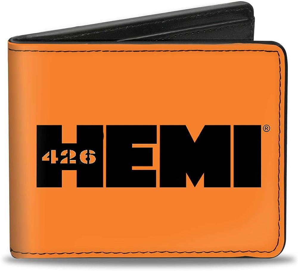 Buckle-Down Men's Standard Bifold Wallet x Great interest Beauty products Hemi 4.0
