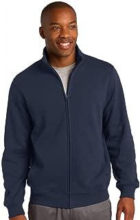 Men's Full Zip Sweatshirt,X-Large,True Navy