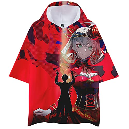 Harajuku Anime takt op.Destiny 3D Sudadera con Capucha Destiny Pullover de Manga Larga Asahina Takt Camiseta...