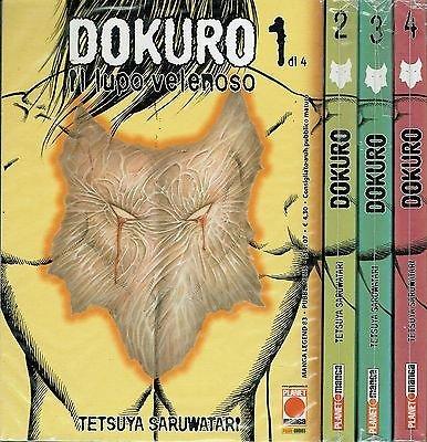 DOKURO il lupo velenoso 1/4 serie COMPLETA di T.Saruwatari ed.Panini