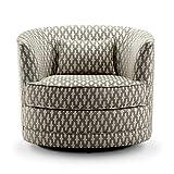 Rosevera Hearst Swivel accent chair, Beige