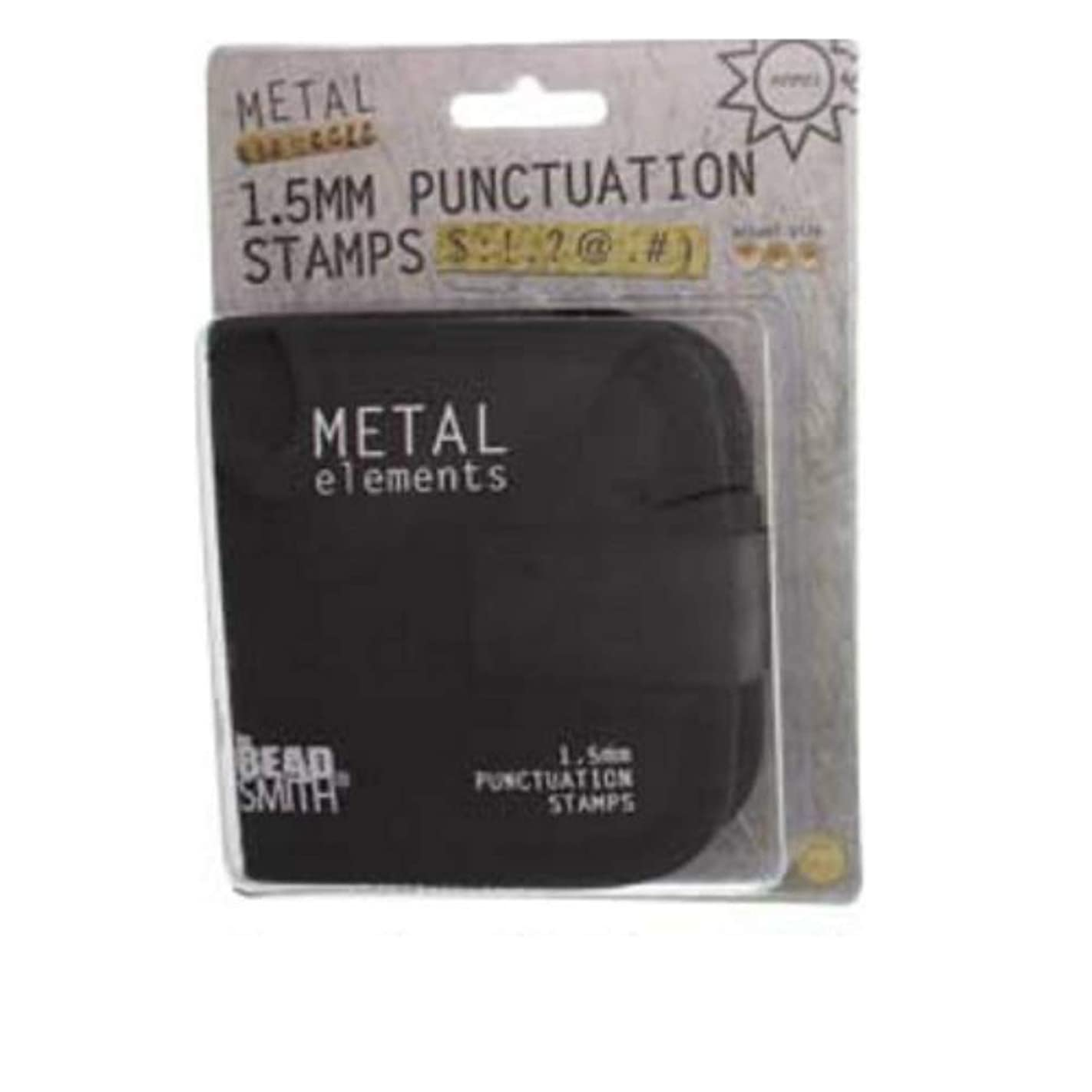 1.5mm Punctuation Stamps, 9 Pieces W/canvas Case - LPSPU15 v02528720840