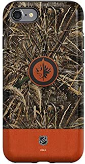 Skinit Pro Phone Case for iPhone SE - Officially Licensed NHL Winnipeg Jets Realtree Max-5 Camo Design