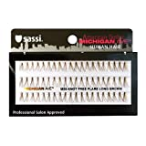 Sassi 804-M20 Michigan Ave 100% Human Hair Knot Free Long Eyelashes, Brown, 6 Count