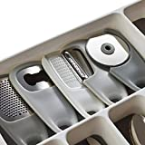 PortoFino 5 Pc. Kitchen Gadget Set – Space Saving Cooking Tools/Food Accessories – Cheese/Chocolate Grater, Garlic/Ginger Grinder, Pizza Cutter, Bottle Opener, Fruit/Vegetable Peeler