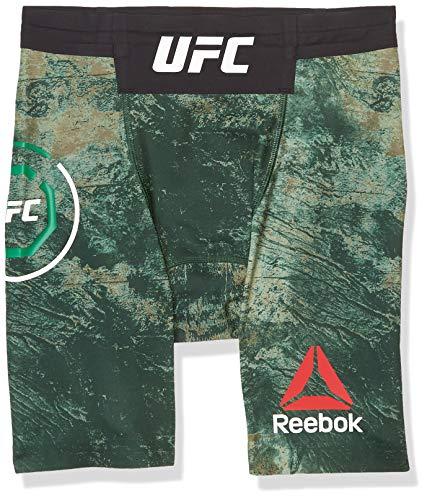 Reebok UFC Fight Night Authentic Vale Tudo Short, Club Green, Medium